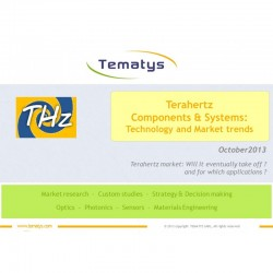 Terahertz Components & Systems:  Technology and Market Trends
