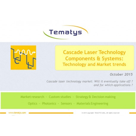 Cascade Laser Components & Systems: Technology and Market trends